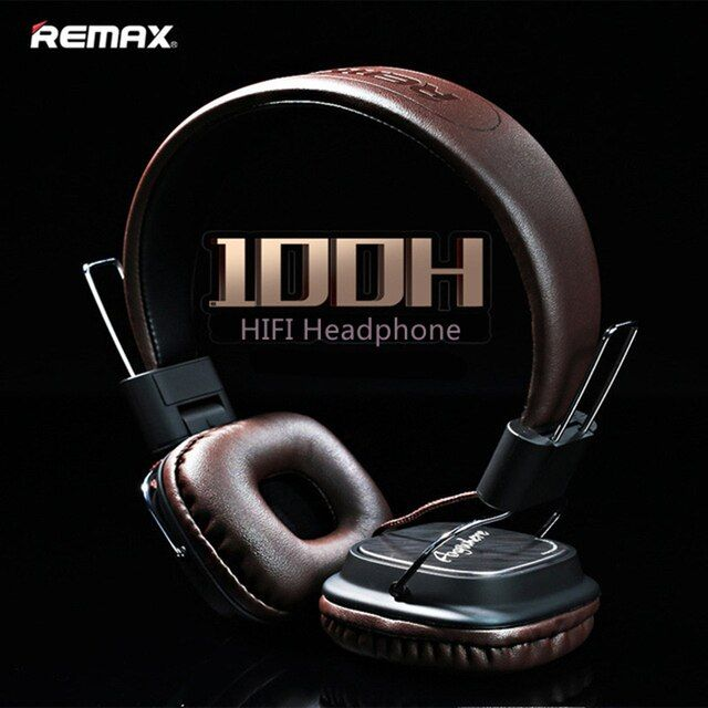 Best gift Original Remax 100H wired Stereo noise cancelling Headphones HIFI Headset with Mic Comparison For Marshall major