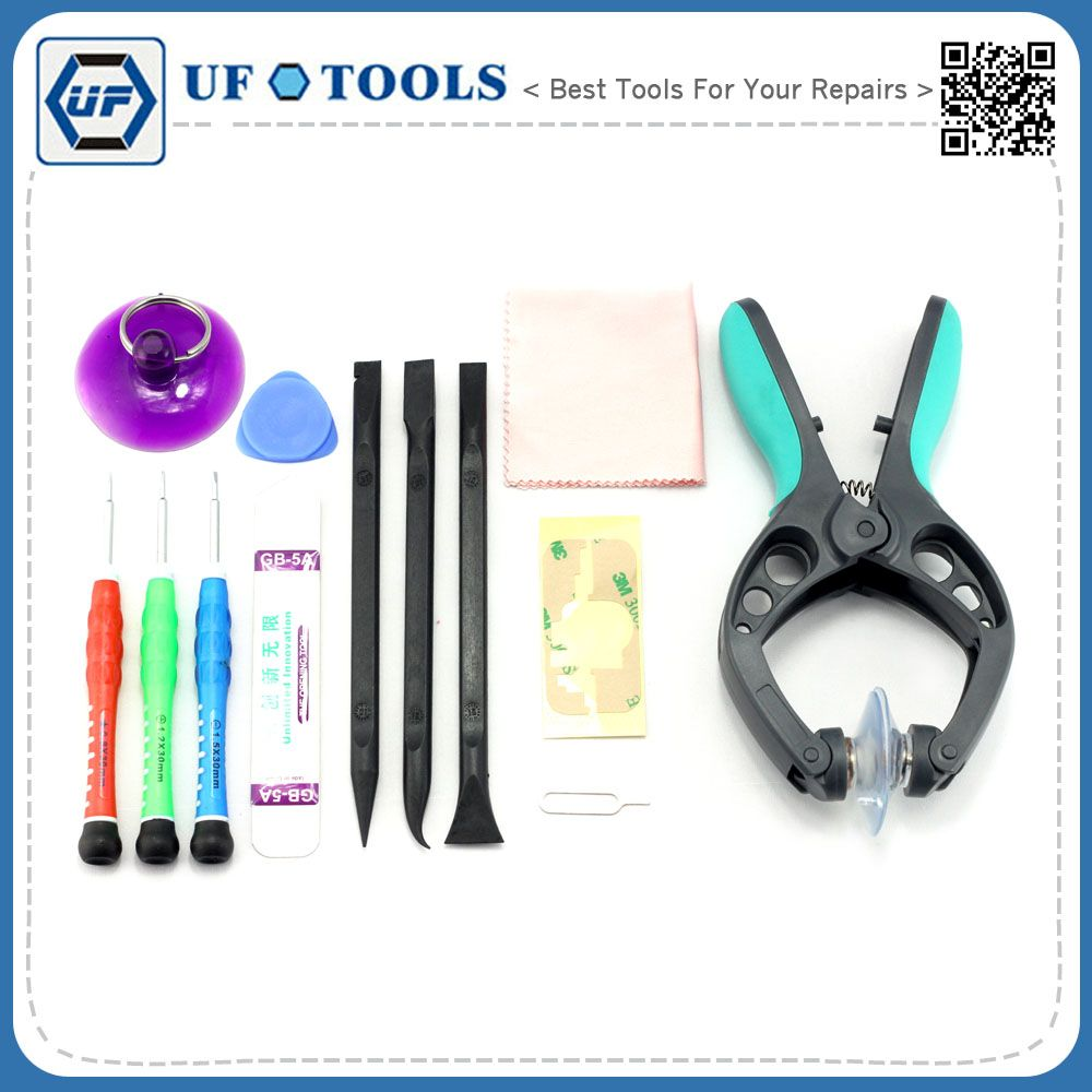 Professional Opening Pry Tool Repair Kit with Non-Abrasive Nylon Spudger for opening screen,Ultrathin Steel Pry Tool for Iphone