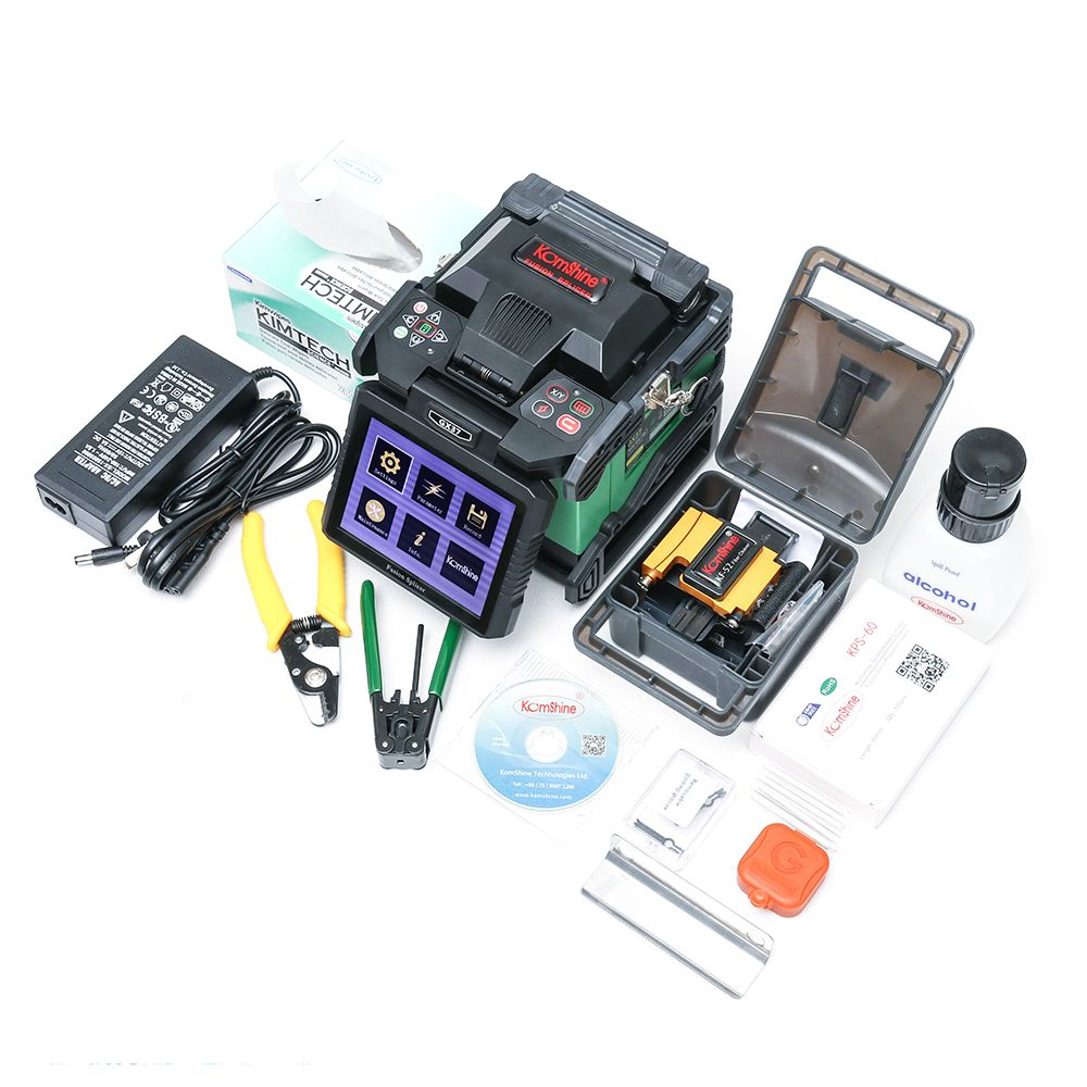 DHL/ Fedex Free Shipping Komshine GX37 FTTH Optical Fiber Fusion Splicer Welding Splicing Machine As 70S