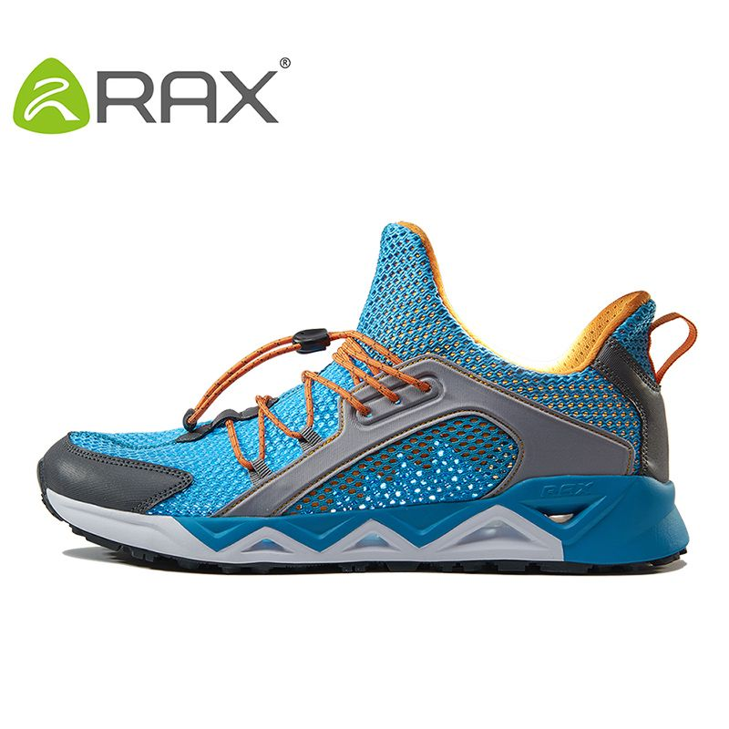 RAX New Arrival Men Breathable Mesh Running Shoes Zapatillas Deportivas Hombre Walking Outdoor Sport Athletic Sneakers Shoes Man
