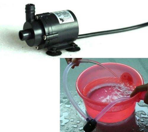 DC 6V 12V Micro Brushless Submersible Motor Water Pump F Solar Fountain Cooling free