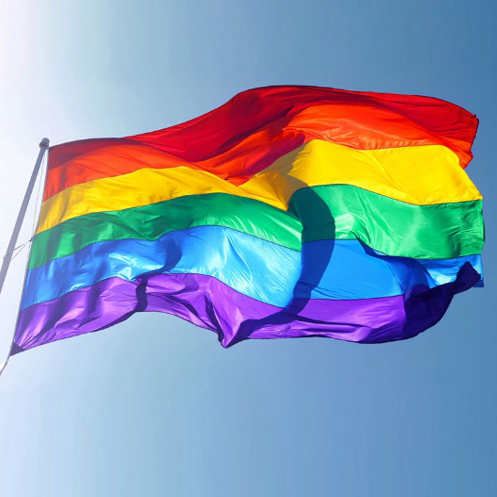 3x5FT Hot Sale Rainbow Flags And Banners  90x150cm Lesbian Gay Pride LGBT Flag Polyester Colorful Rainbow Flag For Decoration