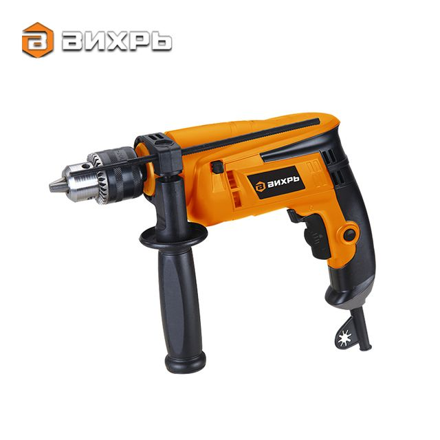 Vihr DU550 Impact Drill 550W 1.7kg Power High Quality Electric Drill Family Used Household Tool for DIY Things