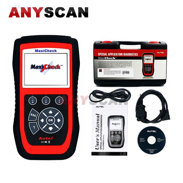 Original AUTEL MaxiCheck Pro EPB ABS SRS DPF Scanner OBD2 Full System Diagnostic Tool