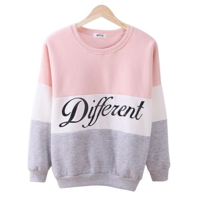 Spring Women Cotton Hooded Casual Print Sweatshirt Pullover Hoodie Coat Outerwear Tops
