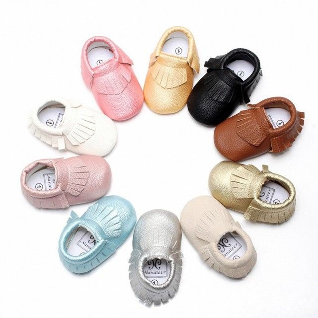 Big Clearance Sale Tassel Baby Moccasins Soft Leather Baby Girl Shoes Moccs Infant Boy Shoes Babies Toddler Shoes First Walkers