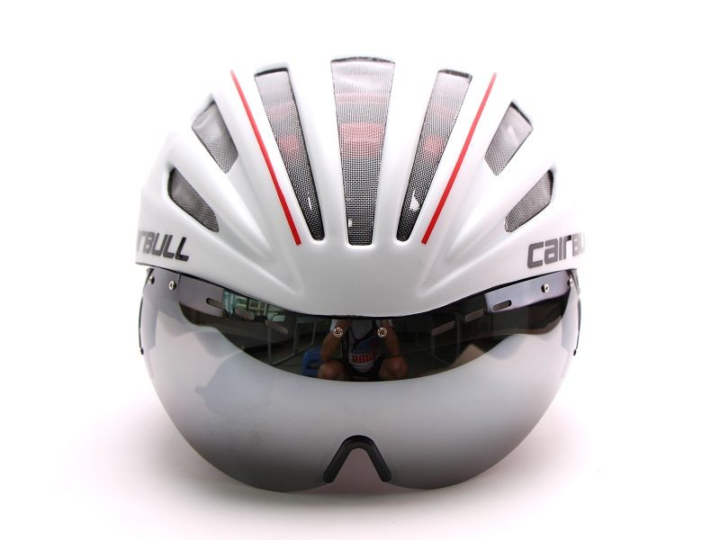 Cairbull Helmet Goggles Magnetic UV Visor Ultralight  Road Bike Aero Heren  Bicycle Cycling Integrally-molded MTB TT