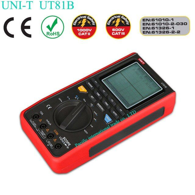 UT81B digital multimeters have embedded digital control technology design, with digital storage oscilloscopes,digital multimeter