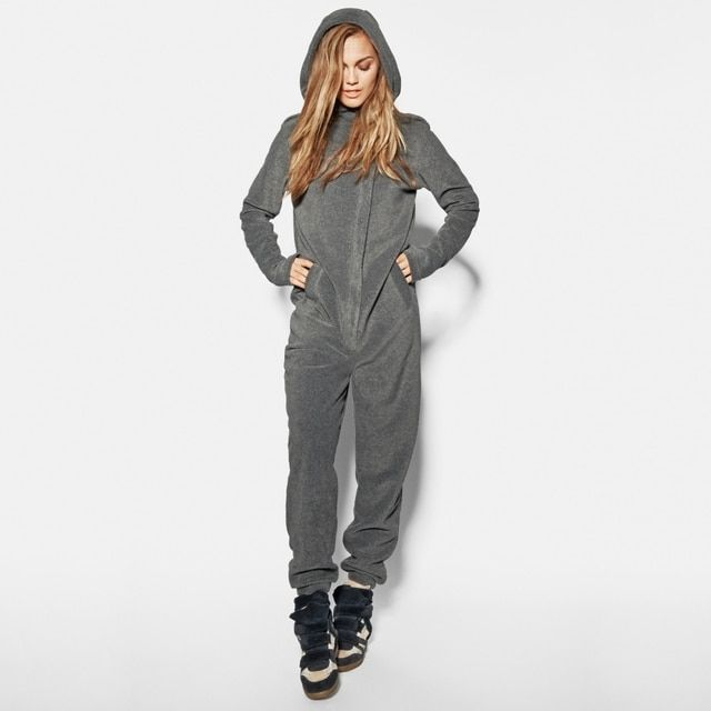 Men and Women's Unisex Hooded Sweatshirt  Pullovers Loungewear Jumpsuit Bodysuit Overalls Catsuit One-piece Suits