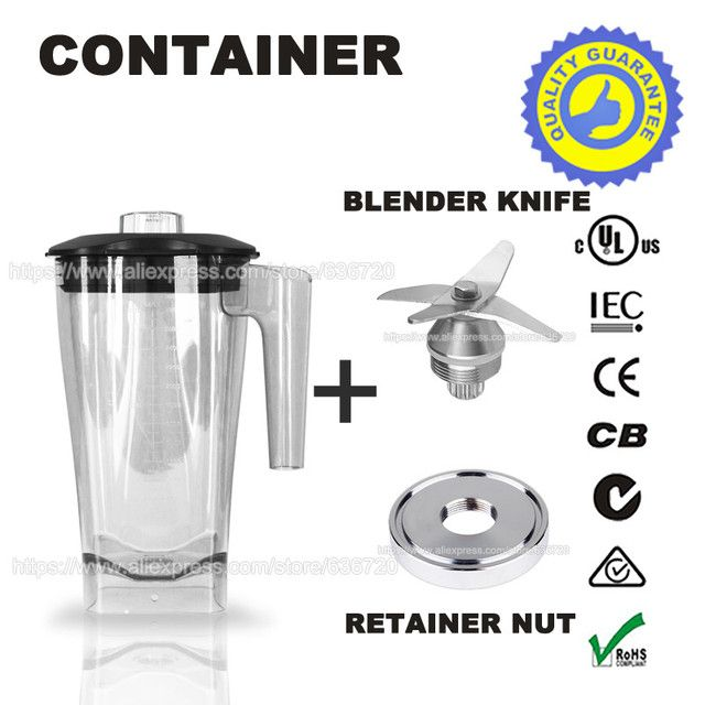 G5500 Blender knife & container & Retainer Nut