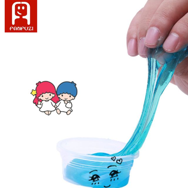 NEW magic slime 24 colors/set crystal mud Gag Prank Novelty Toy Practical Joke trick Toys fun Slime Cleaning Glue