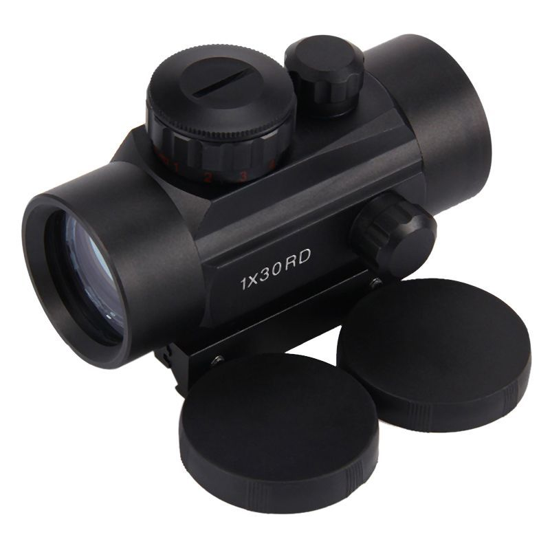 Holographic Red Dot Riflescope Tactical Lens Sight Scope Hunting Red Green Dot for Shotgun Rifle  Rifle Airsoft Gun