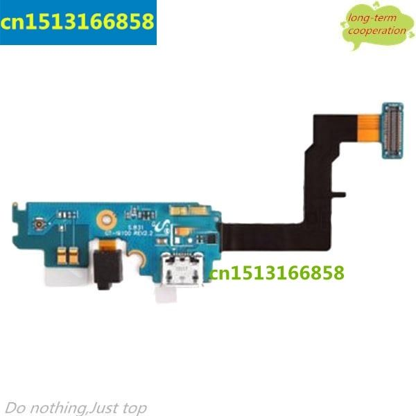 10 pieces/lot  Charging Port Dock Connector Flex Cable Ribbon  for Samsung Galaxy S2 I9100
