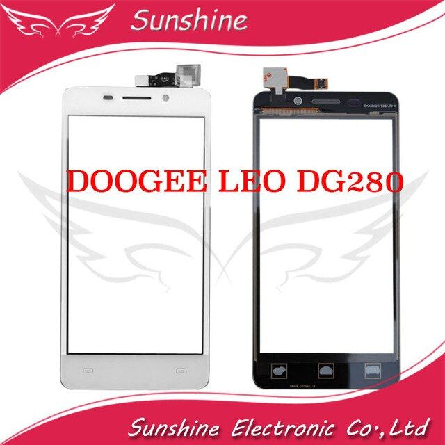 "4.5""inch Touch Digitizer Panel Screen For DOOGEE LEO DG280 DG 280 Touch Screen"