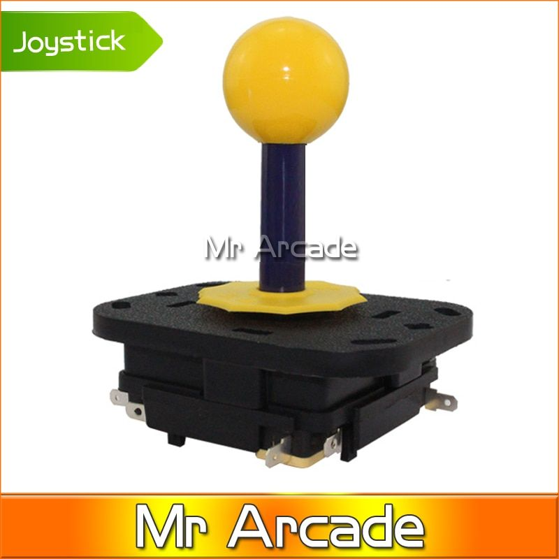2016 Hot Arcade joystick DIY Joystick Red Ball 4/8 Way Joystick Fighting Stick Parts for Game Arcade free shipping