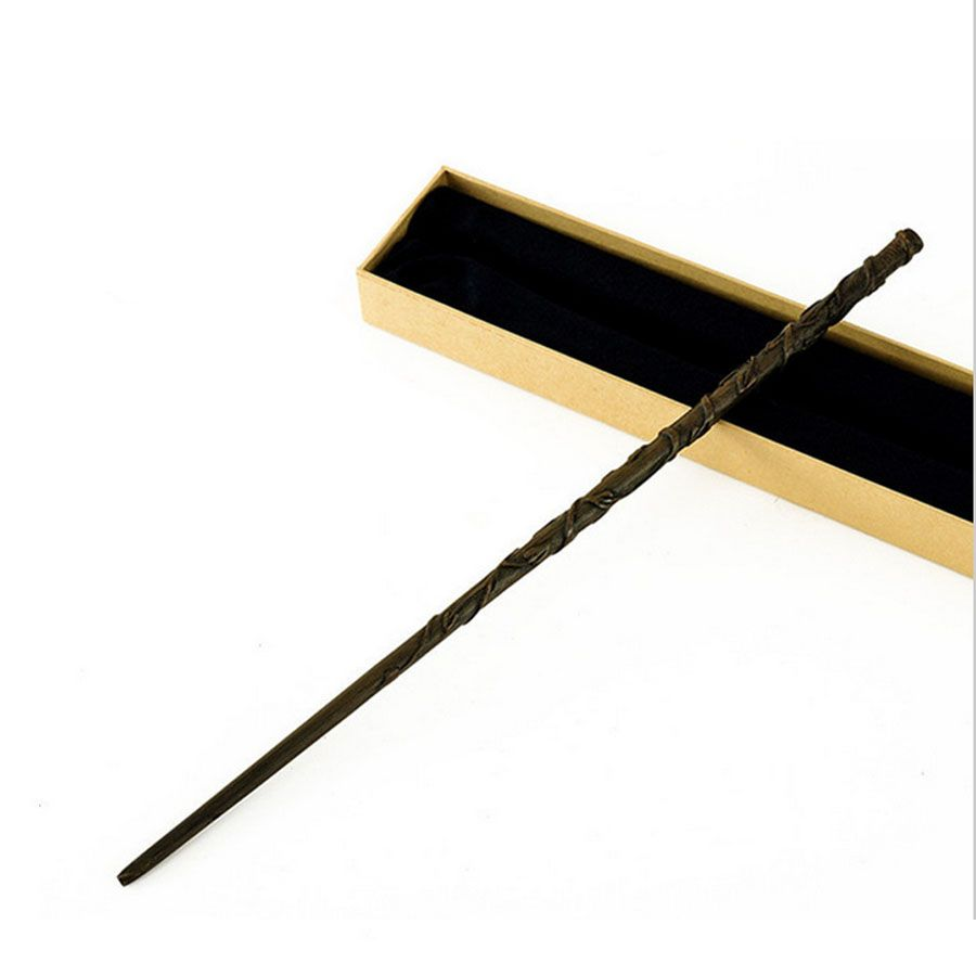 Newest With Iron Core New Quality Deluxe COS Hermione Magic Wand of Harri Magic Magical Wands with Gift Box Packing