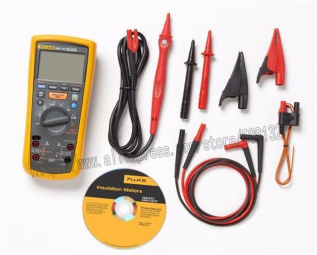 Fluke 1587 FC Insulation Multimeter Insulation Test Voltages 1000V Insulation Test 2G Ohm Fluke Insulation Tester