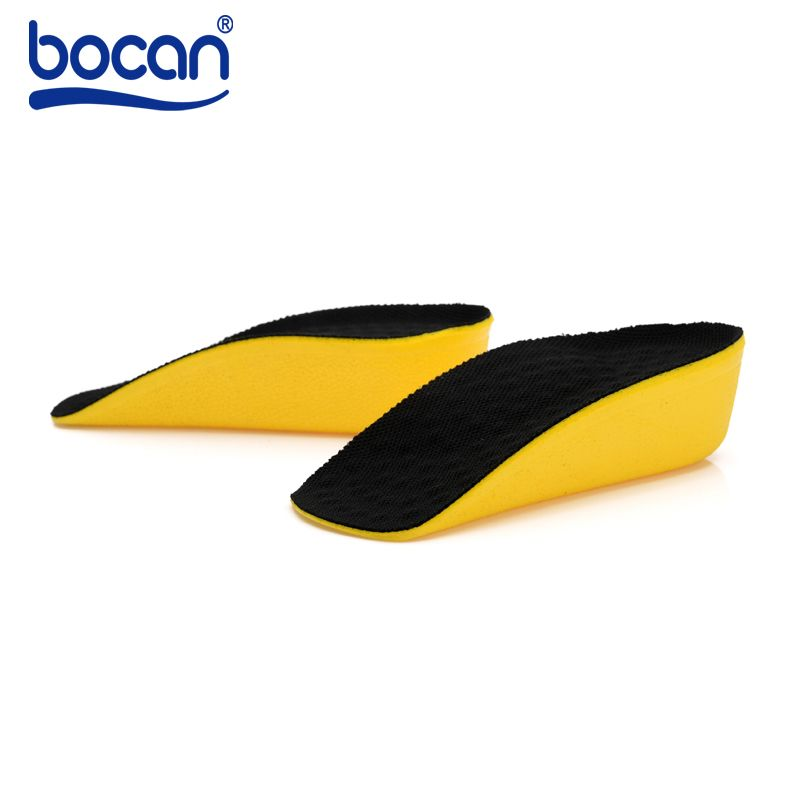 BOCAN Height Increase Insoles Half insoles 3cm Invisible Elevator Insole PU material Orthopedic Insole for Men and Women