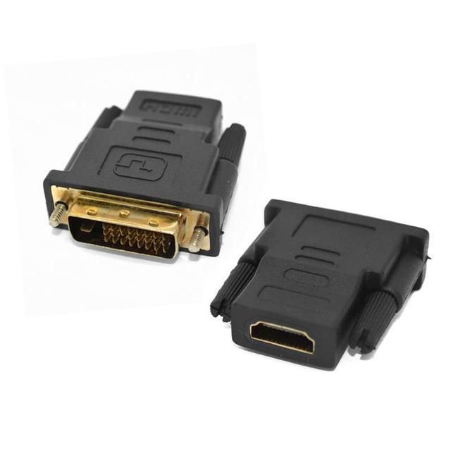 VOXLINK DVI Male to HDMI Female M-F HDMI DVI Adapter Converter convertor For HDTV