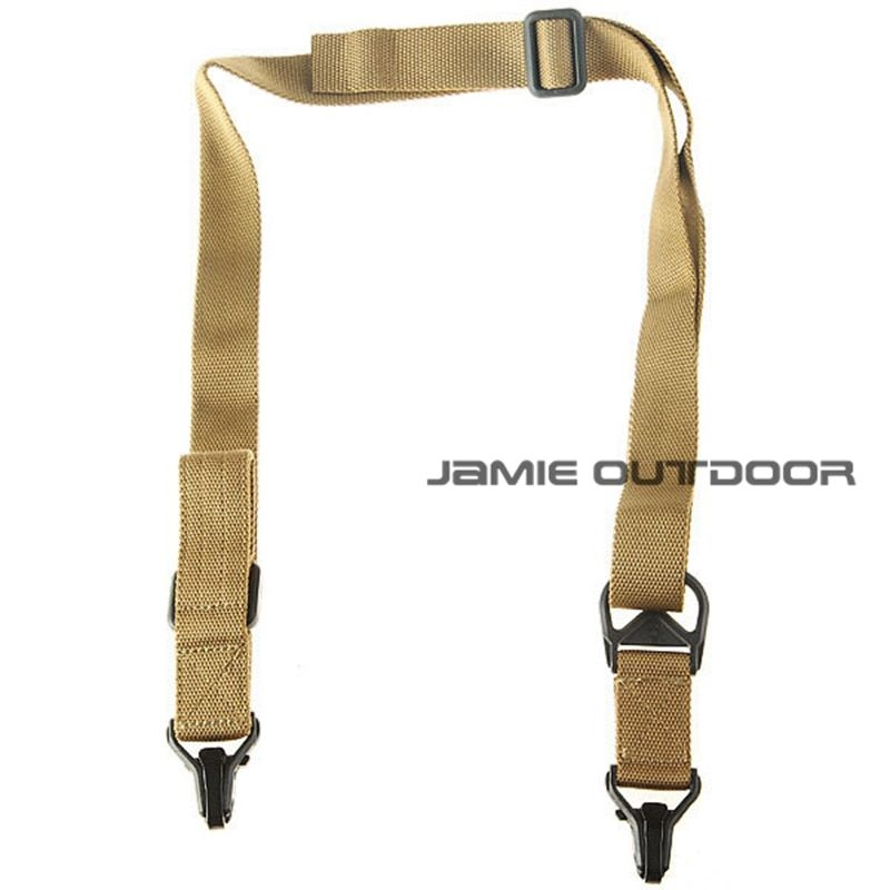 New Universal Outdoor Hunting Military Tactical Multi-function 2 Point Airsoft Hunting Belt System Rifle Shot Gun Sling Strap
