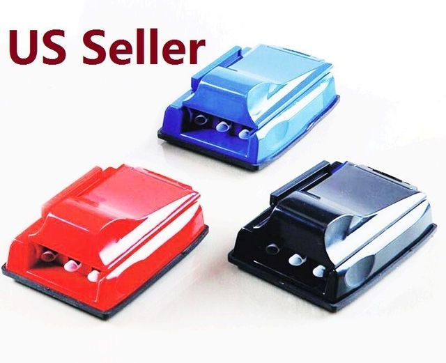 Mini Manual Triple Cigarette Rolling Machine Tube Injector Roller Tobacco Maker