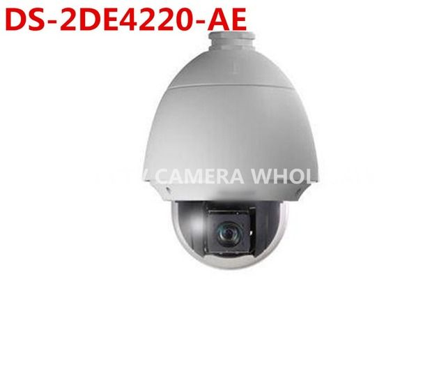 DS-2DE4220-AE International English version 20X Optical zoom 2MP Network PTZ Dome Camera POE