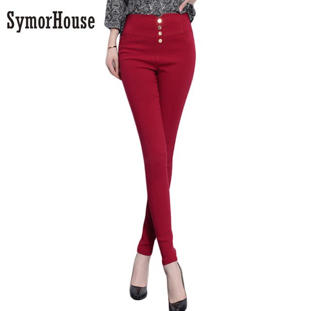 Spring Autumn Slim Women Pants Fashion Style Plus Size XXXL Leggings high waist Stretch Pencil Pants Women Skinny Trousers