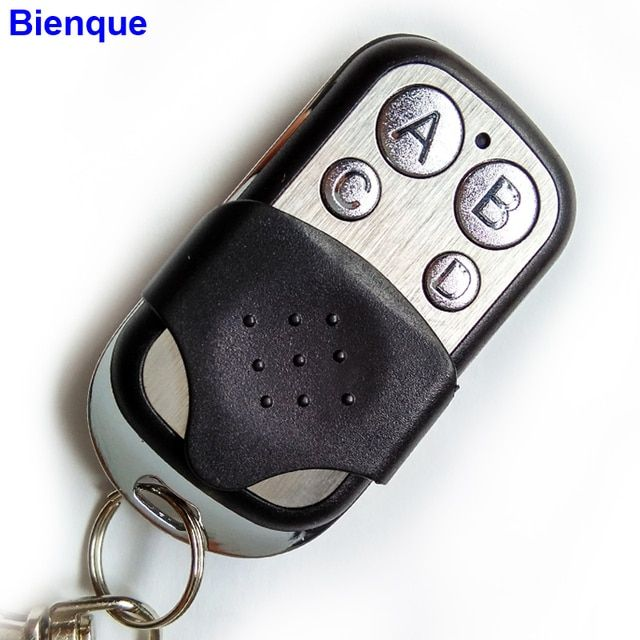 Portable Mando Garaje 433mhz Remote Control Garage Door Presentation Universal Cloning Duplicator Learning Opener Copy keychain