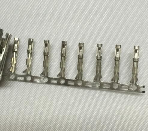 100pcs Dupont Female Pin Crimp Pin Jumper Terminal Connector Terminal Metal 2.54mm