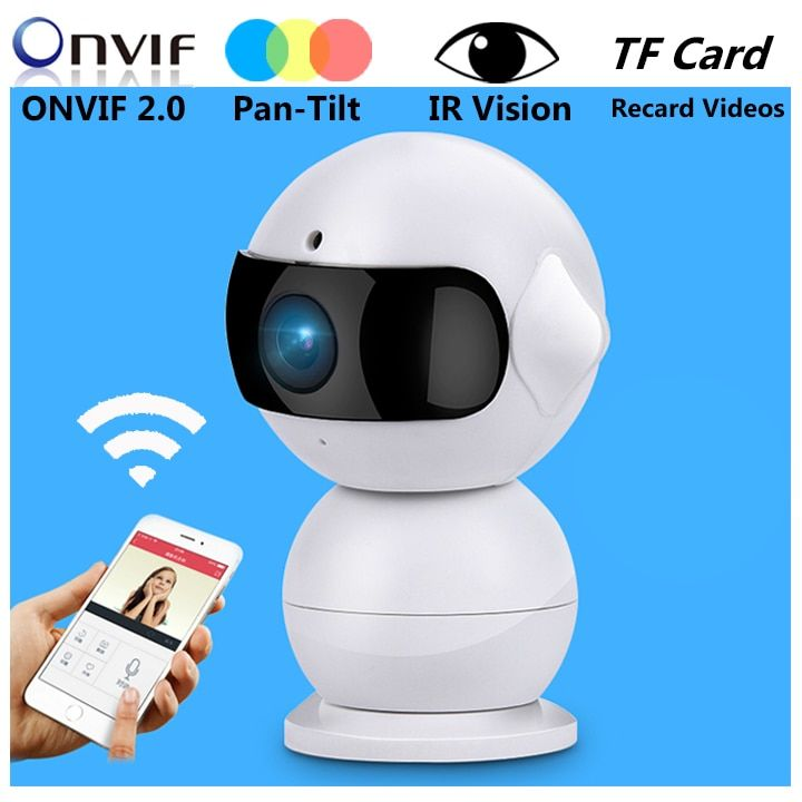 Wireless Robot Camera Night Vision Mini WiFi iP Camera HD 960P Indoor Home Security Surveillance Smallest Camera Monitor baby