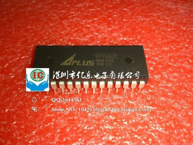 Free shipping 5pcs/lot APR9600 APR9600P dual in-line DIP voice voice recording chip IC can be repeated new original