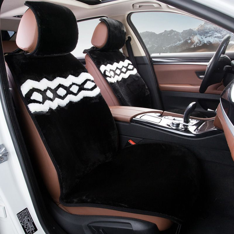 Universal covers for car seats car styling car seat cushion Accessories for car artificial fur seat cover nexia Camry cruze ceed