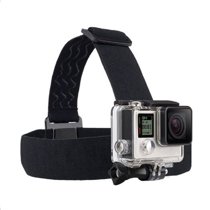 EKOSA Head Strap Mount For Gopro Hero 5 6 Xiaomi Yi 4K Eken H9 Accessories Action Camera For Gopro Go Pro Hero 3 4 Sjcam Sj4000