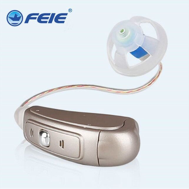 Mini programable RIC Digital Hearing Aid Listening Devices MY-19 Receiver-in-canal hearing aids Open Ear Medical Machine