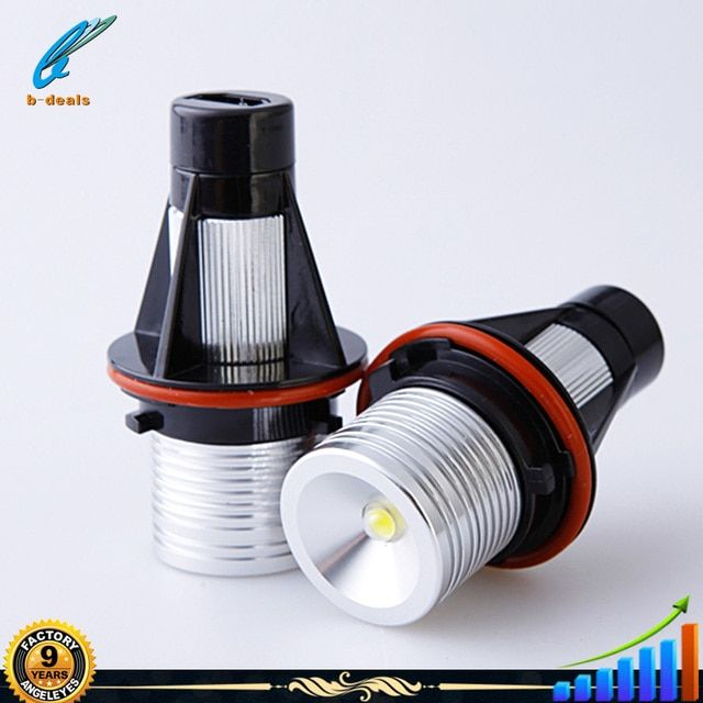Manufacturer Auto Lighting System 3W LED Marker Angel Eyes for BMW E39 E53 X5 E60 M5 E61 E63 E64 M6 E65 E83 X3 E87 3W light