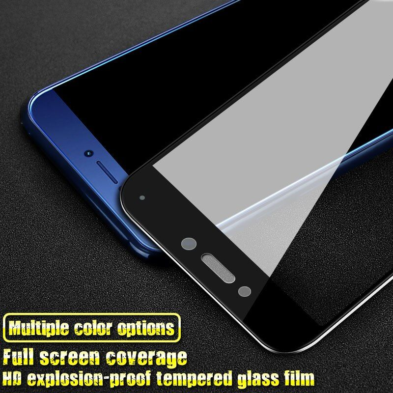Imak 2.5D Screen Protector For P8 Lite 2017/GR3 2017 Full Cover Tempered Glass for Huawei P9 Lite 2017/Honor 8 Lite Glass Film