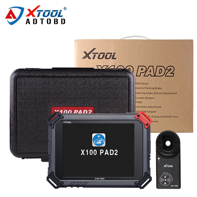 100% Original XTOOL X100 PADII PAD 2 pro with for VW 4th 5th X100 PAD2 better than X300 Pro3 with Special function DHL Free ship