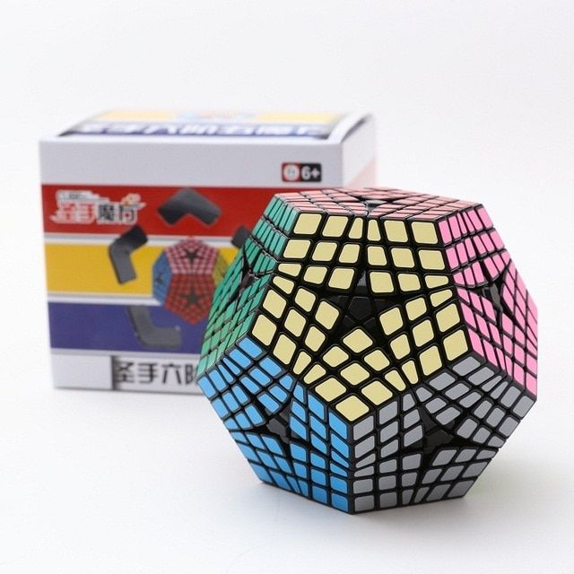 Newest Shengshou Elite Kilominx Cube 6x6 Dodecahedron Magic Cube Puzzle Learning&Educational Cubo magico Toy as a gift
