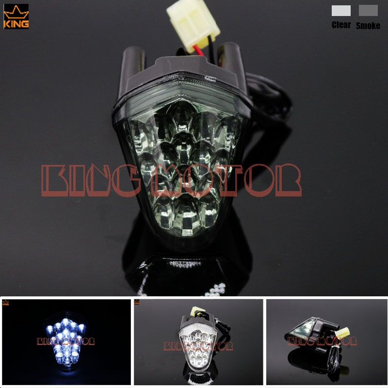 For YAMAHA YZF-R6 YZF R6 2006-2007 Motorcycle Accessories Front Center Marker LED Pilot Light Smoke