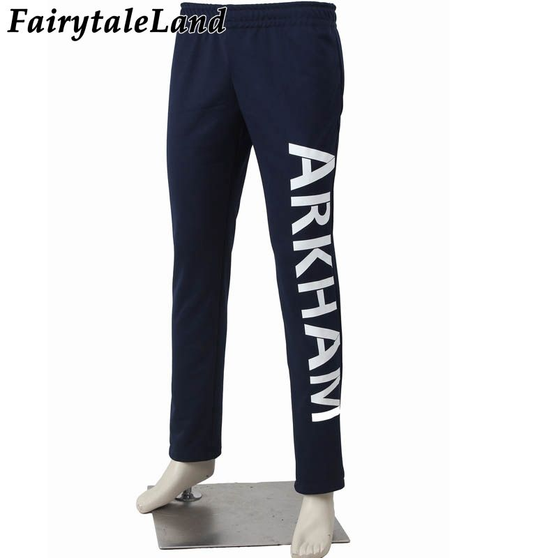 Arkham Joker pants Joker cosplay accessories custom made Harley Quinn Suicide Squad cosplay costume pants cosplay Joker pants