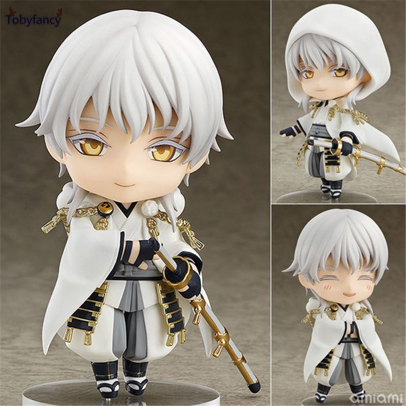 Tobyfancy Game Touken Ranbu Online Figure Tsurumaru Kuninaga Nendoroid 540# PVC 10CM Action Figure Model Toy
