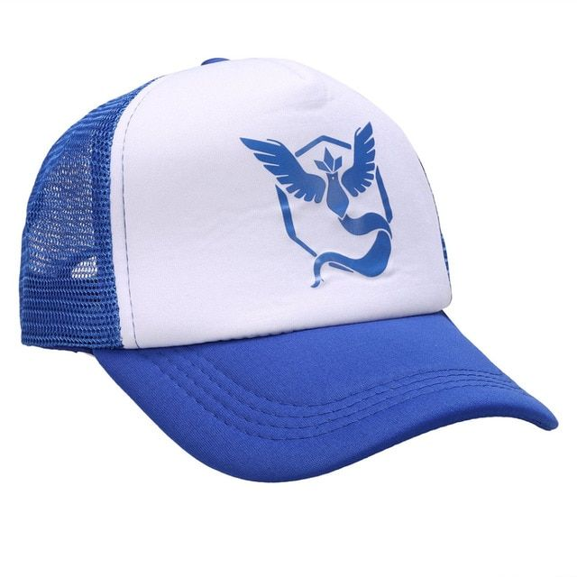 Mystic Team Baseball Cap Adjustable Pokemon Hat