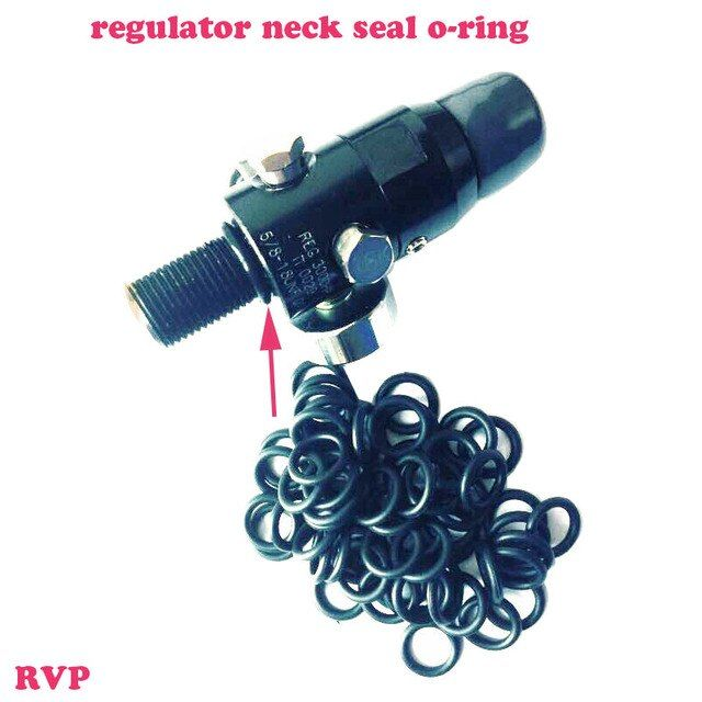 Free Shipping PCP Paintball Regulator Neck Seal O-ring Rubber O-ring 100PCS=1LOT