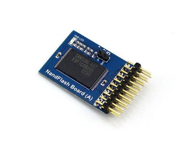 NandFlash Board (A) Storage Module with 1G Bit (128M x 8 Bit) Memory on Board
