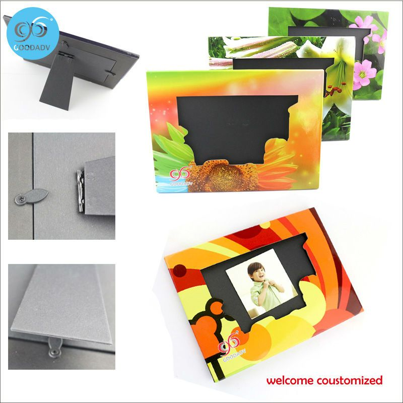 2 Pcs/lot  stand paper photo frame album display picture frame baby photo frames for picture