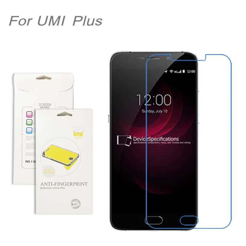 For UMI Plus film, 3pcs/lot High Clear LCD Screen Protector Film Screen Protective Film Screen Guard For UMI Plus