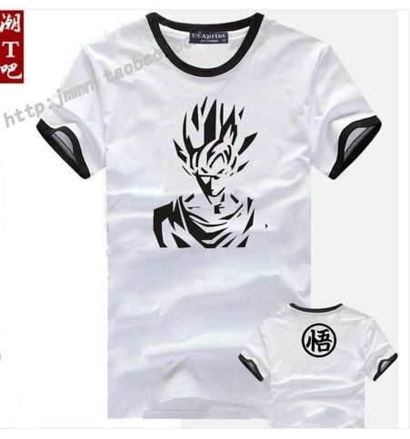 DRAGON BALL Z GOKU'S G TOP ADULT ANIME T-SHIRT DBZ Z Master Stars cosplay tshirt tee