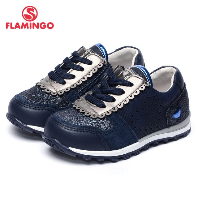 FLAMINGO 2017 New Arrival Spring & Autumn sneakers Fashion High Quality children shoes 71P-XY-0071