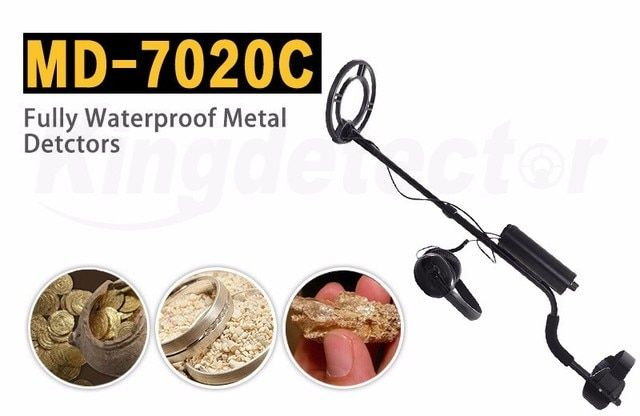 Factory High Quality Professional Fully Waterproof MD-7020C Metal Detector, Kingdetector Underwater MD-7020 Gold Finder In Sea