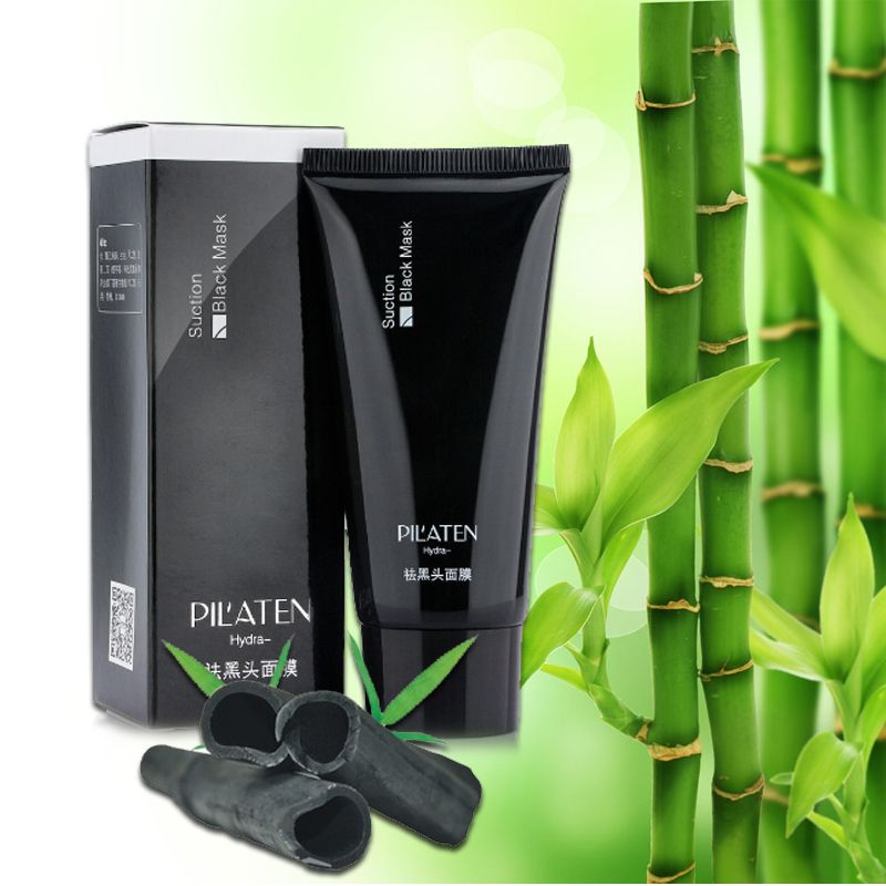 5pcs blackhead remover Deep Cleansing the Black head Acne remover black mud face Tearing oil skin 60g free shipping